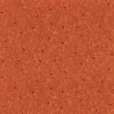 Moda Kansas Troubles Favorites 2019 - 9605 17 Rustic Orange Perennials By The Yard