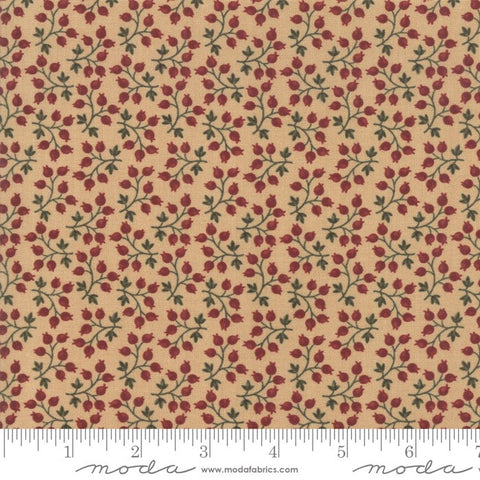 Moda Kansas Troubles Milestones 9613 11 Tan Branching Out By The Yard