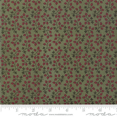 Moda Kansas Troubles Milestones 9613 15 Green Branching Out By The Yard