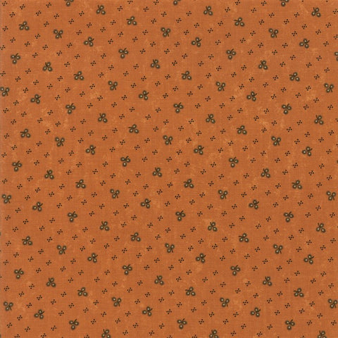 Moda Kansas Troubles Sweet Holly 9633 12 Gold Winter Clover By The Yard