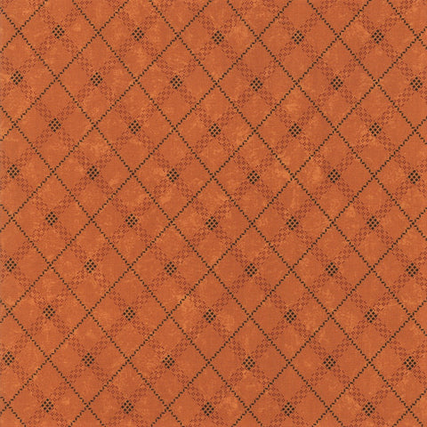 Moda Kansas Troubles Sweet Holly 9635 12 Gold Gift Wrap Plaid By The Yard