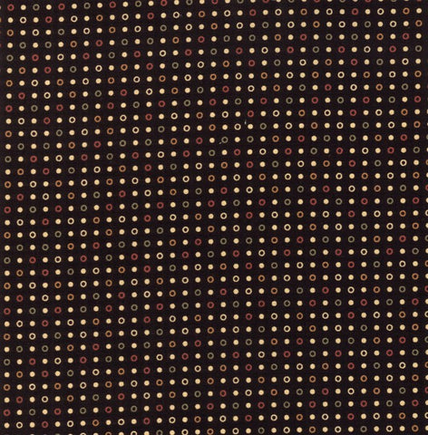 Moda Kansas Troubles Sweet Holly 9637 19 Black Candy Dot By The Yard