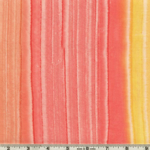 Hoffman Fabrics Bali Batik 990 7742 Tropicana Watercolor Stripe By The Yard