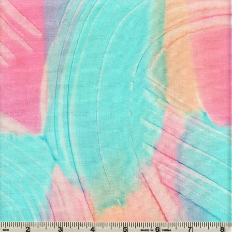 Hoffman Bali Batik 998 7744 Multi Bubblegum Swirled Patch By The Yard