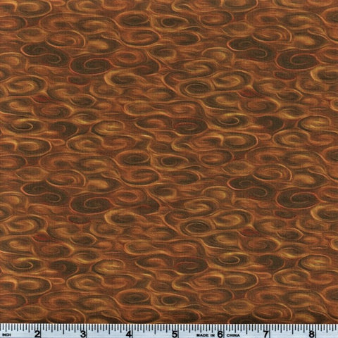In The Beginning Fabrics Pastiche 9JYG 2 Golden Brown Pool By The Yard