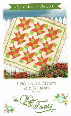 A TISKET A TASKET - The Quilt Factory Pattern QF-1904 DIGITAL DOWNLOAD