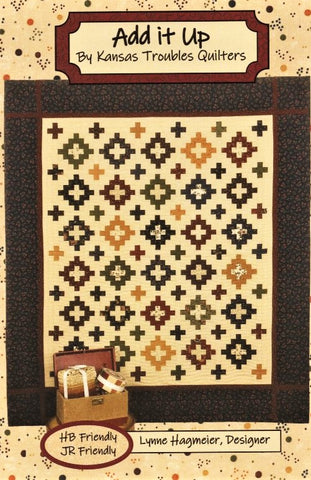 ADD IT UP - Kansas Troubles Quilters' Pattern