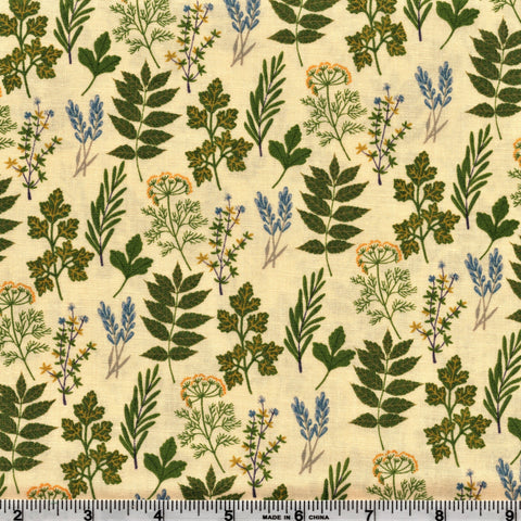 Poppie Cotton Prairie Sisters - Alice's Collection Yellow By The Yard