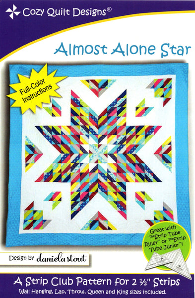 ALMOST ALONE STAR - Cozy Quilt Design Pattern