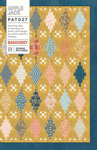 APPLE JACK - BASICGREY Quilt Pattern 027