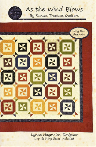 AS THE WIND BLOWS - Kansas Troubles Quilters' Pattern KT 19071