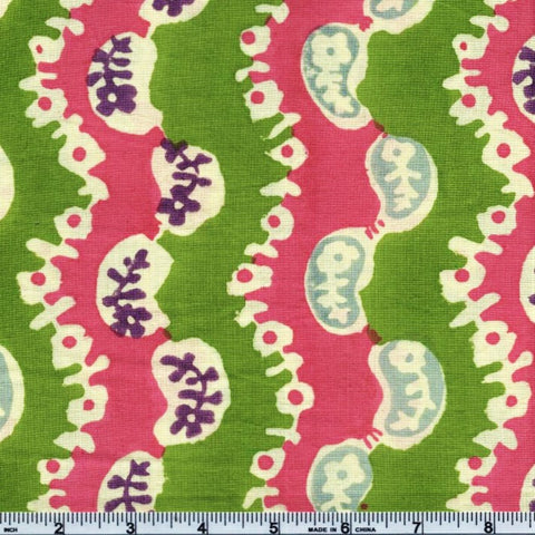 Free Spirit Kaffe Fassett Collective BPKF001 Lime Wiggle By The Yard