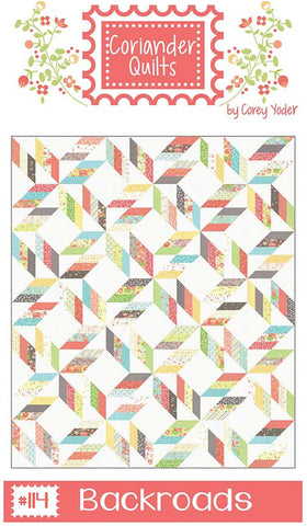 Coriander Quilts Pattern - BACKROADS