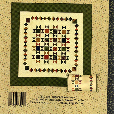 BE A STAR - Kansas Troubles Quilt Pattern Booklet