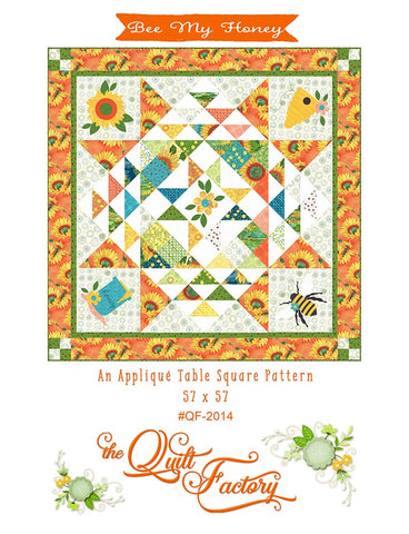 BEE MY HONEY - The Quilt Factory Pattern QF-2014 DIGITAL DOWNLOAD