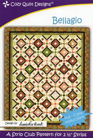 BELLAGIO - Cozy Quilt Designs Pattern