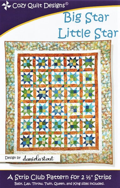 BIG STAR LITTLE STAR - Cozy Quilt Designs Pattern