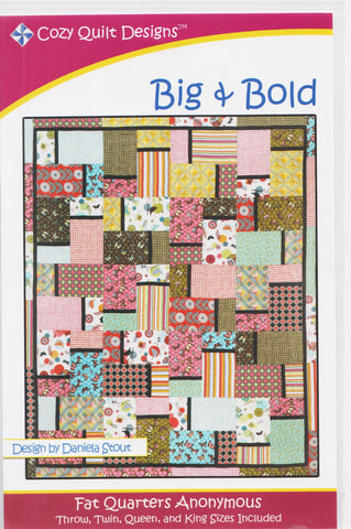 Cozy Quilt Designs Pattern - BIG & BOLD