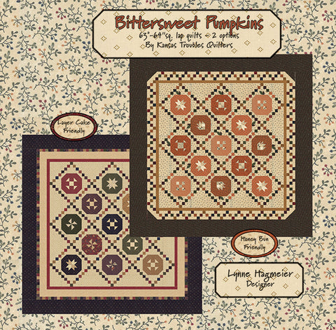 BITTERSWEET PUMPKINS - Kansas Troubles Quilt Pattern Booklet