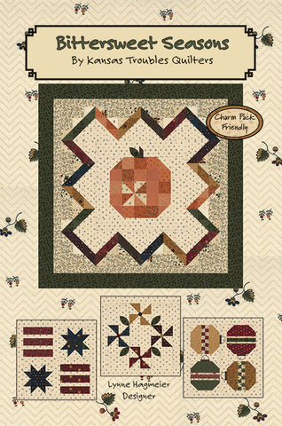BITTERSWEET SEASONS - Kansas Troubles Quilters' Pattern KT 55039
