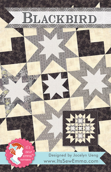 BLACKBIRD - It's Sew Emma Quilt Pattern