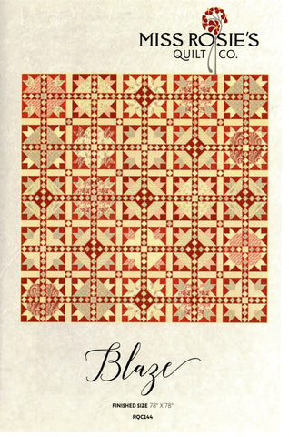 BLAZE - Miss Rosie's Quilt Co. Pattern