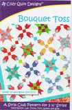 BOUQUET TOSS - Cozy Quilt Designs Pattern
