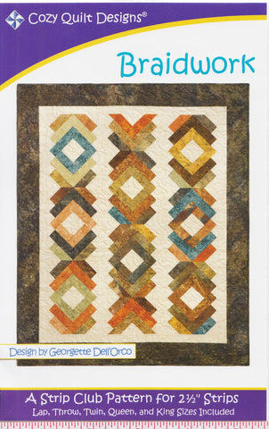 Cozy Quilt Designs Pattern - BRAIDWORK