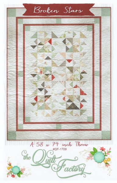 BROKEN STARS - Quilt Pattern QF-1709 By The Quilt Factory