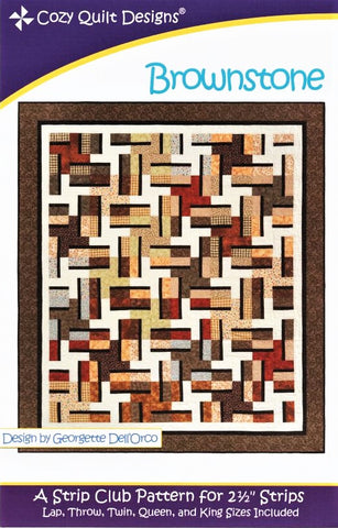 BROWNSTONE - Cozy Quilt Designs Pattern