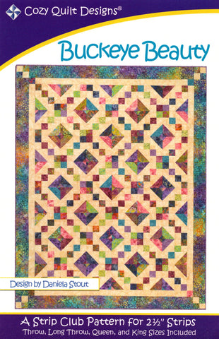 Cozy Quilt Designs Pattern - BUCKEYE BEAUTY