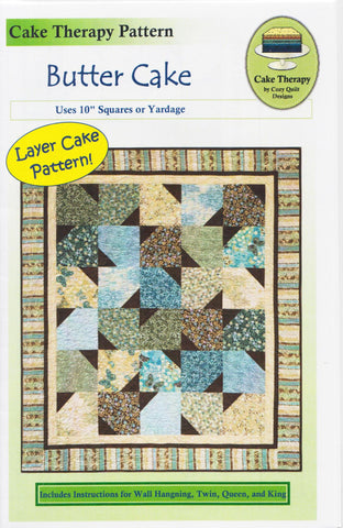 BUTTER CAKE - Cozy Quilt Designs Pattern