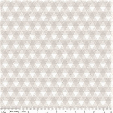 Riley Blake Land Of Liberty C10563 Gray Triangle Gingham By The Yard