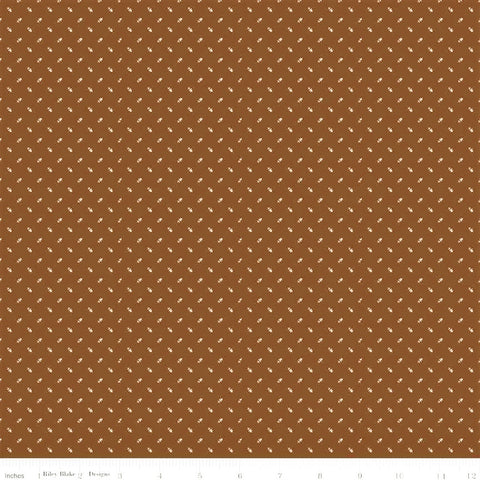 Riley Blake Lumberjack Aaron C8708 Brown Tiny Arrows By The Yard