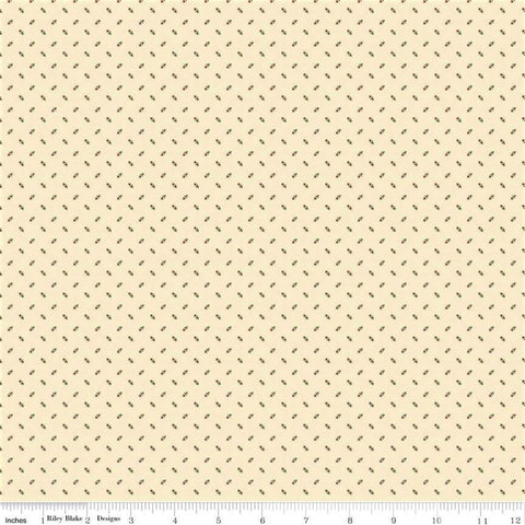 Riley Blake Lumberjack Aaron C8708 Cream Tiny Arrows By The Yard