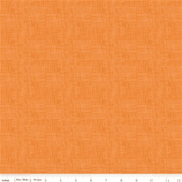 Riley Blake Fossil Rim 2 - C8873 Orange Scratch By The Yard