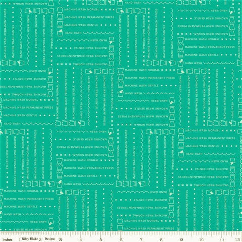 Riley Blake Vintage Happy 2 C9131 Vivid Laundry By The Yard