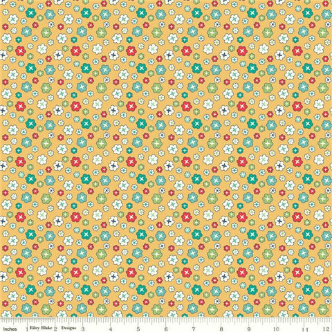 Riley Blake Vintage Happy 2 C9136 Honey Blossom By The Yard