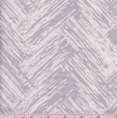 Hoffman Bali Batiks COU 2003 Gray and White Chevron by the yard