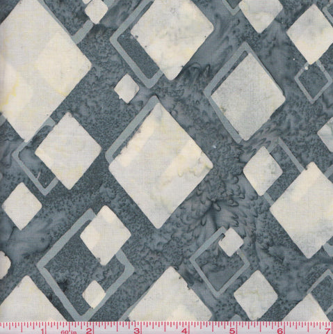 Hoffman Bali Batiks COU 2012 Diamonds on Bluish Grey By The Yard