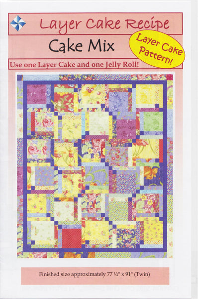 Cozy Quilt Designs Pattern Cake Mix Jordan Fabrics