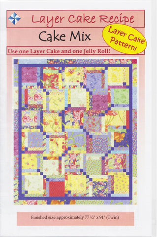 Cozy Quilt Designs Pattern -  CAKE MIX