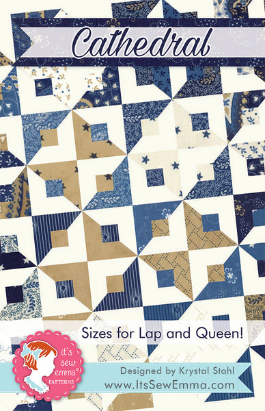CATHEDRAL - It's Sew Emma Quilt Pattern