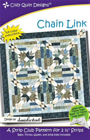 CHAIN LINK - Cozy Quilt Designs Pattern