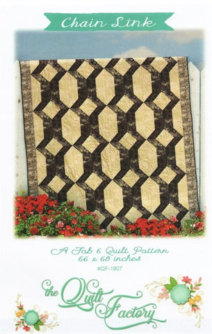 CHAIN LINK - The Quilt Factory Pattern QF-1907 DIGITAL DOWNLOAD