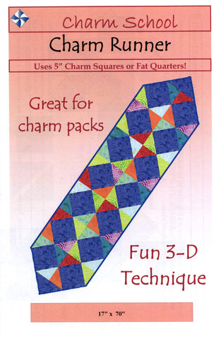 CHARM RUNNER - Cozy Quilt Designs Pattern