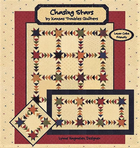 CHASING STARS - Kansas Troubles Quilt Pattern Booklet