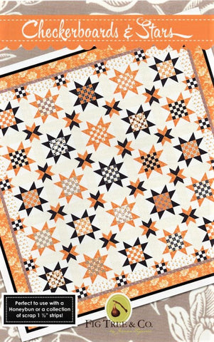 CHECKERBOARDS & STARS - Fig Tree & Co. Pattern