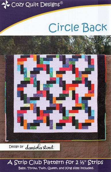 CIRCLE BACK - Cozy Quilt Designs Pattern