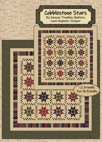 COBBLESTONE STARS - Kansas Troubles Quilters' Pattern KT 20077